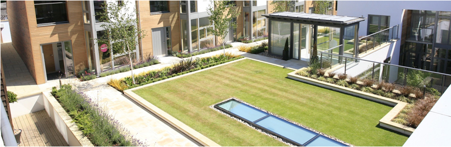 Green roof systems and living walls specialists